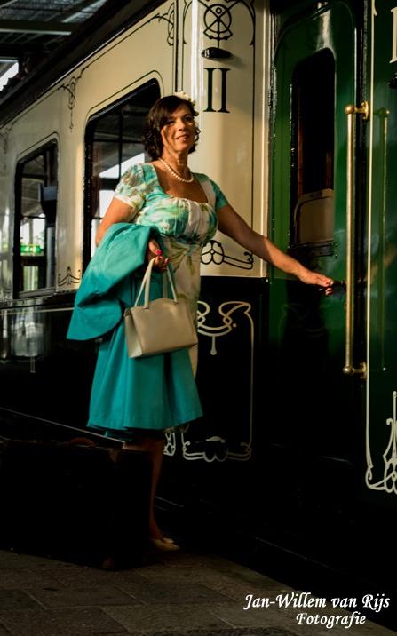 Reizen terug in de tijd, spoorwegmuseum, photoshoot 2018