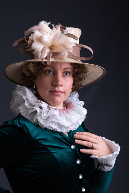 Klassiek portret naar oud Hollandse meesters