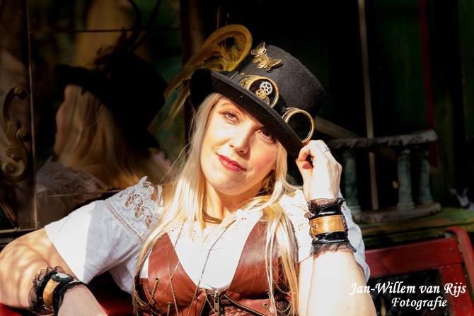 Steampunk fantasy photoshoot
