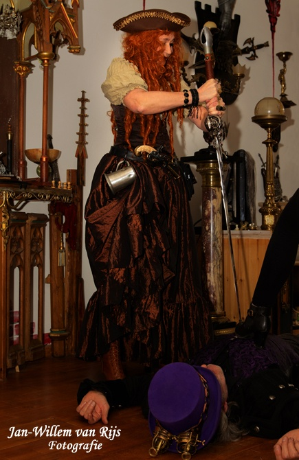 Steampunk fantasy photoshoot